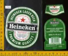 Etichetta Birra Heineken Lager Beer - Olanda - Birra