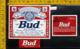 Etichetta Birra Bud King Of Beer - Birra