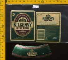 Etichetta Birra Kilkenny Irish Beer - Irlanda - Birra