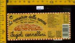 Etichetta Alimentare Fagioli Cannellini Le Conserve Della Nonna - MO - Etichette