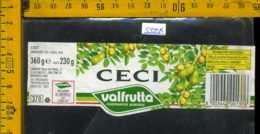 Etichetta Alimentare Ceci Valfrutta - MO - Etichette