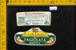 Etichetta Alimentare Fagiolata Rustica Sacla - Etichette