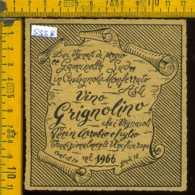 Etichetta Vino Liquore Grignolino 1966 - Castagnole Monferrato AT - Etichette