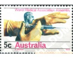 Ref. 161047 * MNH * - AUSTRALIA. 1968. ASAMBLEA GENERAL DE LA ASOCIACION MUNDIAL DE LA MEDICINA - Nuevos