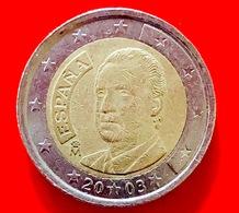 SPAGNA - 2003 - Moneta - Re Juan Carlos - Ritratto - Euro - 2.00 - Slovenia