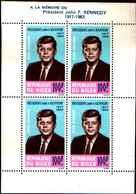 5956BIS )  Niger 1964-mi-BLOCCO N. 2 -MORTE -Kennedy  -MNH** - Niger (1960-...)