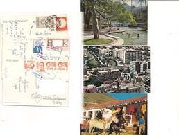 M9041 AMERICA VENEZUELA 3 CARDS STAMPS MARK 1957-1985 - Venezuela