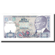 Billet, Turquie, 1000 Lira, L.1970, KM:196, NEUF - Turquie