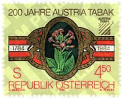 Ref. 80729 * MNH * - AUSTRIA. 1984. CENTENARY OF THE TOBACCO COMPANY 'AUSTRIA TABAK' . CENTENARIO DE LA COMPAÑIA DE TAB - Unclassified