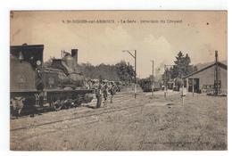 9. St-DIDIER-sur-ARROUX - La Gare - Direction Du Creusot - Francia