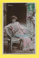 CPA Melle TOUTAIN Artist Theatre Paris  Artiste 1900 – Femme (Variétés) – Photo Reutlinger Paris (voir Scan Recto/verso) - Artistes