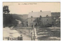 On - La Wamme Et Ferme Fripiat 1910 - Marche-en-Famenne