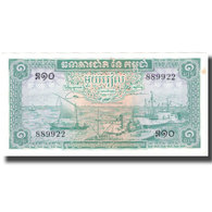 Billet, Cambodge, 1 Riel, KM:4c, SPL - Cambodge