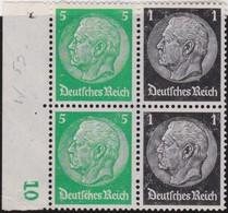 Deutsches  Reich   .    Michel   .     W 59 2x    .    **   .    Postfrisch  .   /  .   MNH - Zusammendrucke