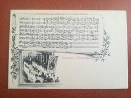 CPA - Luxembourg - ECHTERNACH MARCH POLKA POUR PIANO SOUVENIR DE LA PROCESSION DANSANTE (f) - Echternach