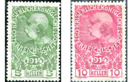 Ref. 118808 * MNH * - AUSTRIA. 1914. WAR CHARITY FUND . PRO OBRAS DE GUERRA - Neufs