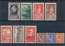FRANCE - LOT DE 10 TIMBRES NEUFS** SANS CHARNIERE - COTE YT : 10€ - Collections
