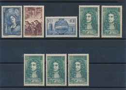 FRANCE - LOT DE 9 TIMBRES NEUFS* AVEC CHARNIERE - COTE YT : 13€20 - 1938 - France
