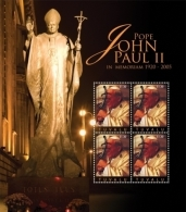 TUVALU 1133* ; MINT N.H. STAMPS ; IGPC 1031 SH ( POPE JOHN PAUL II - Tuvalu