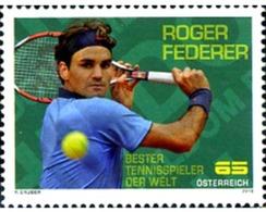 Ref. 243589 * MNH * - AUSTRIA. 2010. ROGER FEDERER, TENNIS PLAYER . ROGER FEDERER, TENISTA - Tennis