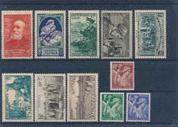 FRANCE - LOT DE 11 TIMBRES NEUFS* AVEC CHARNIERE - COTE YT : 15€20 - 1939/41 - France