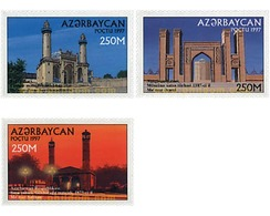Ref. 83928 * MNH * - AZERBAIJAN. 1997. MOSQUES . MEZQUITAS - Azerbaiján