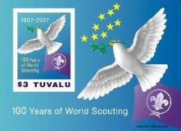 TUVALU   1046 MINT NEVER HINGED SOUVENIR SHEET OF BIRDS - Uccelli