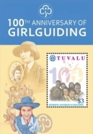 TUVALU 1119 ; MINT N.H. STAMPS ;  IGPC 1032 S ( GIRL GUIDING - Tuvalu