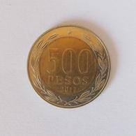 500 Pesos Münze Aus Chile Von 2017 (vorzüglich) - Cile