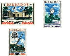 Ref. 33897 * MNH * - BARBADOS. 1968. WORLD METEOROLOGICAL DAY . DIA MUNDIAL DE LA METEOROLOGIA - Stamps