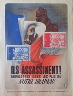 R1591/245 - 1942 - N°565 à 566 Sur CP (EDITION DU SECRETARIAT GENERAL A L'INFORMATION ET A LA PROPAGANDE) - France