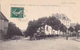 Saône-et-Loire - Bourbon-Lancy - Hôtel Des Postes Et Avenue De La République - Francia