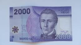 2000 Pesos Banknote Aus Chile Von 2016 (vorzüglich) - Chile