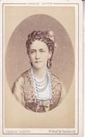 DANEMARK La Reine Photographie Ch JACOTIN Paris 1878 Au Format CDV - Foto's
