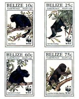 Ref. 81230 * MNH * - BELIZE. 1997. BLACK HOWLER MONKEY . MONO AULLADOR NEGRO - Chimpancés