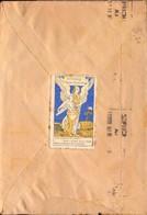 Lettre, Nice Pour Marseille, Vignette La Croisade Femmes Françaises, Gandon, 1946      (bon Etat) - 1921-1960: Periodo Moderno