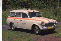 Voitures Tczech  -  SKODA 1202 Sanita  (Záchranne Sluzby Praha - Ambulance)  -  1966   -  CPM - Passenger Cars