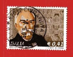 Italia °- Anno 2003 - GIOVANNI GIOLITTI . Unif. 2745.   USATO. - 6. 1946-.. Republik