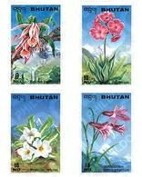Ref. 81445 * MNH * - BHUTAN. 1995. FLOWERS . FLORES - Bhutan