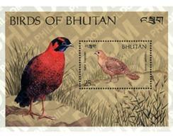 Ref. 293108 * MNH * - BHUTAN. 1989. BIRDS . AVES - Bhután