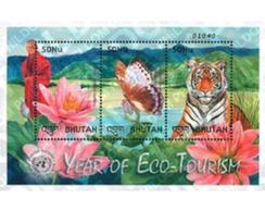Ref. 276313 * MNH * - BHUTAN. 2002. INTERNATIONAL YEAR OF ECO-TOURISM . AÑO INTERNACIONAL DEL ECOTURISMO - Bhutan