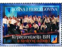Ref. 123517 * MNH * - BOSNIA-HERZEGOVINA. 2003. VOLLEYBALL . BALONMANO - Handball
