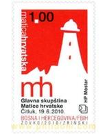 Ref. 260089 * MNH * - BOSNIA-HERZEGOVINA. Croatian Adm.. 2010. ASAMBLEA GENERAL DE MATRIX - Bosnia Erzegovina