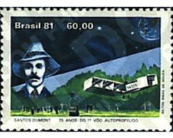 Ref. 26857 * MNH * - BRAZIL. 1981. PIONEERS OF AVIATION . AVIACION PIONERA. - Brésil