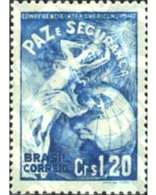 Ref. 293579 * MNH * - BRAZIL. 1947. INTERNATIONAL CONFERENCE FOR THE DEFENCE OF THE HEMISPHERE IN RIO DE JANEIRO . CONFE - Brésil