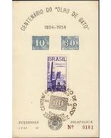 Ref. 577511 * MNH * - BRAZIL. 1954. INAGURACION DEL MONUMENTO Al IMMIGRANTE EN CAXIAS - Brazil