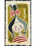 Ref. 367641 * MNH * - BRAZIL. 1968. 22nd ANNIVERSARY OF UNICEF . 22 ANIVERSARIO DE LA UNICEF - Brazil