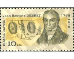 Ref. 170856 * MNH * - BRAZIL. 1968. BICENTENARIO DEL NACIMIENTO DEL PINTOR JEAN BAPTISTE DEBRET (1768-1848) - Brazil
