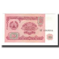 Billet, Tajikistan, 10 Rubles, 1994, KM:3a, NEUF - Tadjikistan