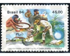 Ref. 193533 * MNH * - BRAZIL. 1984. 50 ANIVERSARIO DE LA PUBLICACION MAESTROS Y ESCLAVOS - Bateaux